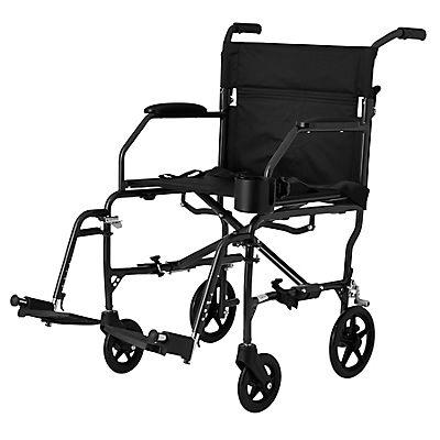 Medline Ultralight Transport Chair - Black