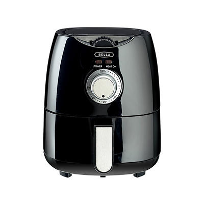 Bella 1.2-Qt. Air Convection Fryer - Black