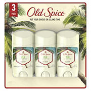 Old Spice Fiji with Palm Tree Men's Invisible Solid Antiperspirant and Deodorant, 3 pk./2.6 oz.