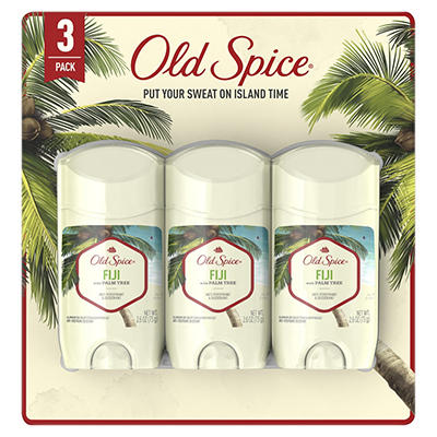 Old Spice Fiji with Palm Tree Men's Invisible Solid Antiperspirant an