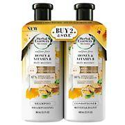Herbal Essences Bio Renew Honey & Vitamin B Sulfate-Free Moisture Shampoo and Conditioner Dual Pack, 12. 2 fl. oz. + 13.5 fl. o