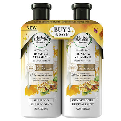 Herbal Essences Bio Renew Honey & Vitamin B Sulfate-Free Moisture Sham