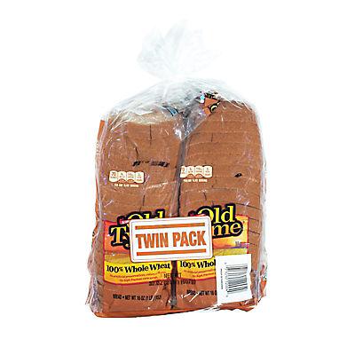 Schmidt Old Tyme 100% Whole Wheat Bread, 2 pk./20 oz.