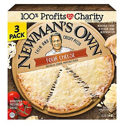 Newman's Own Four Cheese Pizza, 3 pk./16 oz.