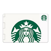 $5 Starbucks Gift Cards, 10 pk.