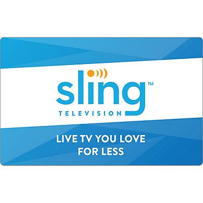$25 Sling TV Gift Card