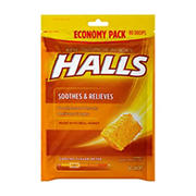 Halls Honey Cough Drops, 2 pk./80 ct.