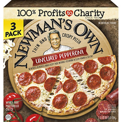 Newmans Own Uncured Pepperoni, 3 pk./15.1 oz.