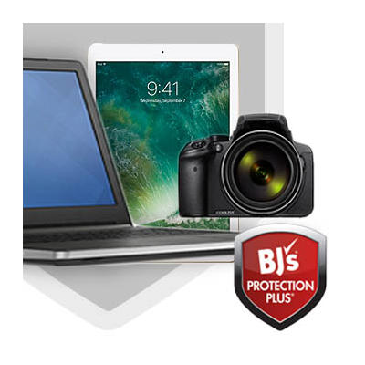 BJ's Protection Plus 3-Year Service Plan for Laptops, Tablets, Notebooks, Cameras