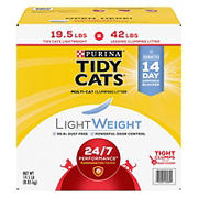 Purina Tidy Cats LightWeight Clumping Cat Litter, 19.5 lbs.