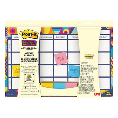 Post-it Super Sticky Weekly Planner