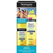 Neutrogena Beach Defense Sunscreen SPF 70 Spray, 6.5 oz. & 8.5 oz.