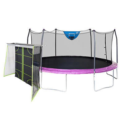 Skywalker Trampolines 17' Oval Sports Edition Trampoline with Enclosur