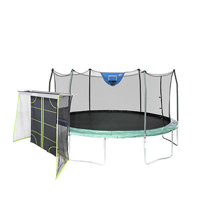 Skywalker Trampolines 16' Oval Sports Edition Trampoline with Enclosur