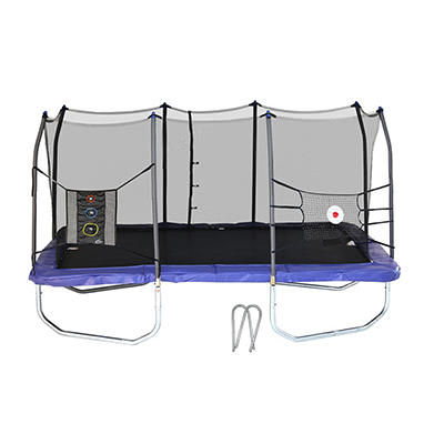 Skywalker Trampolines 15' Rectangle Trampoline with Enclosure Combo -