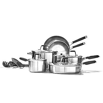 Calphalon Stainless Steel 14-Pc. Cookware Set