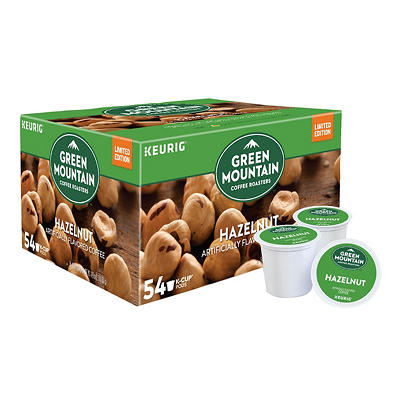 Green Mountain Coffee Roasters Hazelnut Flavored K-Cup Pods, 54 ct.
