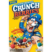 Cap'n Crunch's Crunch Berries Sweetened Corn & Oat Cereal, 2 pk./20 oz.