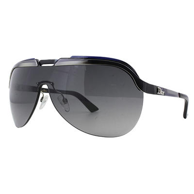 3a04f888da5 Dior Solar Sunglasses with Black Frame and Grey and Black Lenses