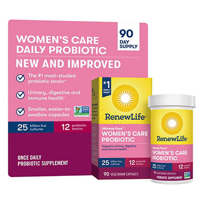 Renew Life Women's Ultimate Flora Probiotic Supplement, 90 ct.