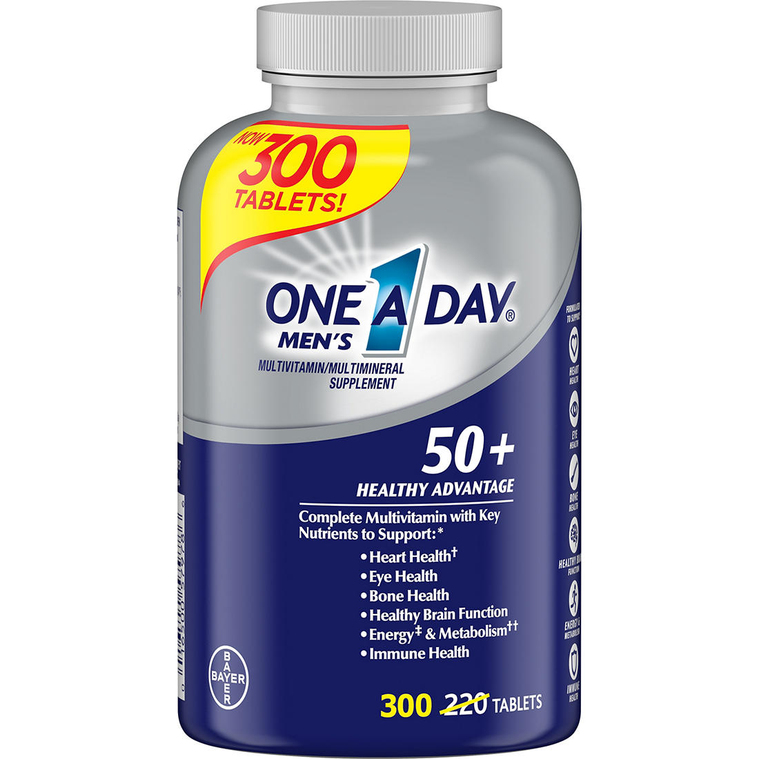 One A Day Men's Multivitamin and Multimineral Supplement, 300 ct