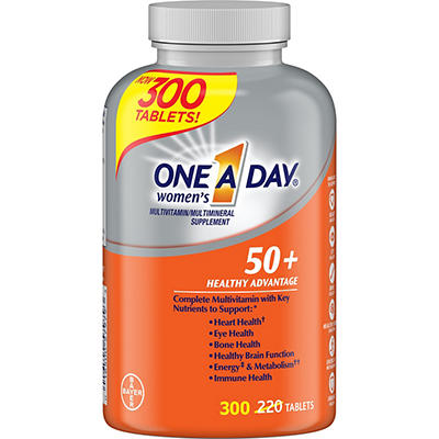 One A Day Women's Multivitamin and Multimineral Supplement, 300 ct.
