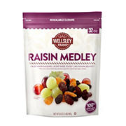 Wellsley Farms Raisin Medley Fruit Pack, 32 oz.
