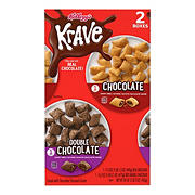 Kellogg's Krave Breakfast Cereal Variety Pack, 2 ct.