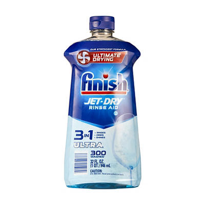 Finish Jet-Dry Rinse Aid, 32 oz.