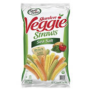 Sensible Portions Garden Veggie Straws With Sea Salt, 23.5 oz.