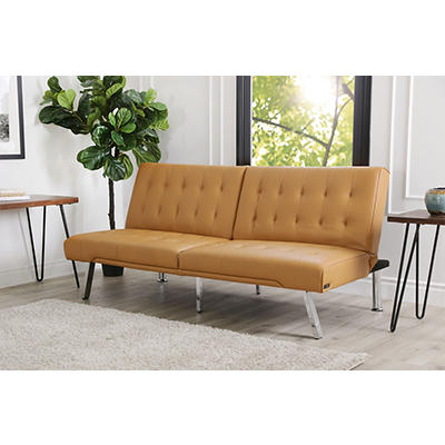 Abbyson Living Jax Futon Sofa Bed - Brown