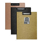 C-Line Modern Metallic Clipboard Folder, 3 ct.