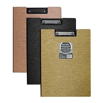 C-Line Modern Metallic Clipboard Folder, 3 ct.