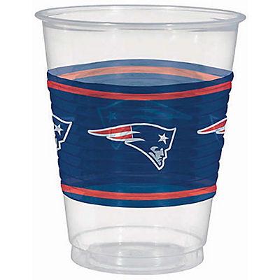 Amscan New England Patriots 16-Oz. Plastic Cups, 25 pk.