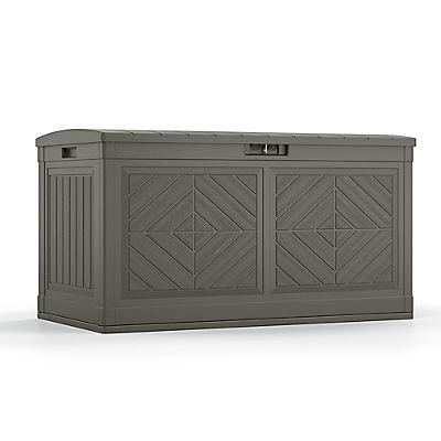 Suncast Baywood 80-Gal. Large Deck Box