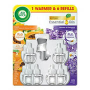 Air Wick Hawaii/ Lavender Oil Warmer with Refills Pack, 6 ct.