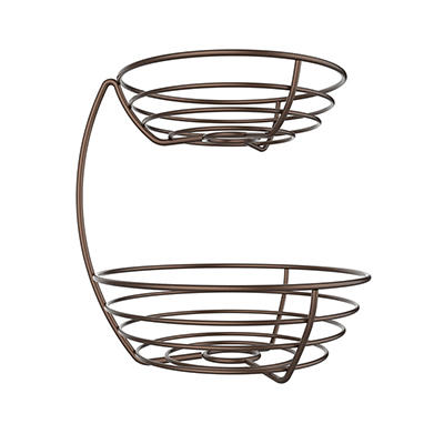 Berkley Jensen 2-Tier Wire Fruit Basket