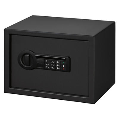 Stack-On Medium Size Personal Safe with Electronic Lock - Black