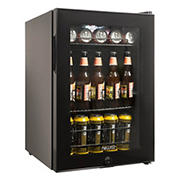 NewAir 90-Can Beverage Refrigerator - Black