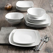 Berkley Jensen 16-Pc. Dinnerware Set - Square