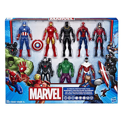 "Marvel 6"" Super Hero Action Figures, 8 pk."
