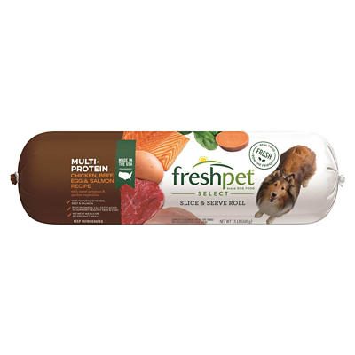 Freshpet Select Multi-Protein Roll for Dogs, 1.5 lbs.