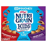 Kellogg's Nutri-Grain Bites Variety Soft Baked Mini Breakfast Bar, 22 ct./1.3 oz.