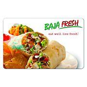 $10 Baja Fresh Gift Card, 3 pk.