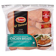 Tyson Boneless Skinless Chicken Breasts, 6 lbs.