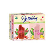 Brothers Organic Strawberry and Pink Lemonade Bars, 16 ct.