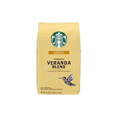 Starbucks Veranda Blend Ground Coffee, 40 oz.