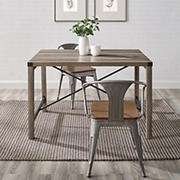 W Trends Farmhouse Solid Wood Kitchen Dining Table 72 Bjs Wholesale Club