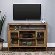 "W. Trends 52"" Wood Media TV Stand Console - Barnwood"