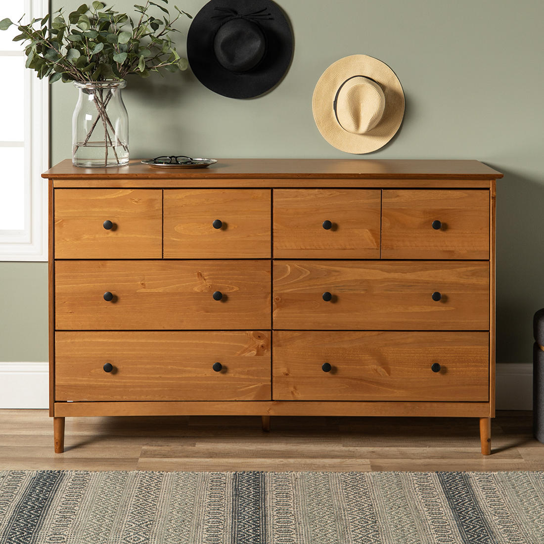 6 Drawer Solid Wood Youth Dresser